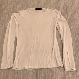 Pretty Little Thing Fitted White Long Sleeve